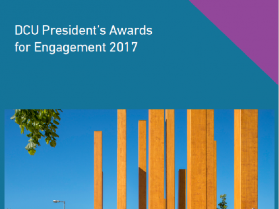 DCU President's Awards for Engagement 2017
