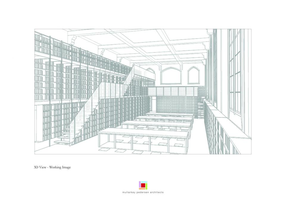 Woodlock Hall Library Design