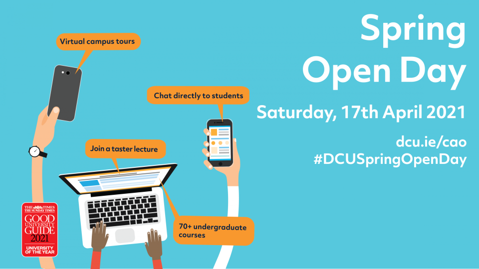 DCU Spring Open Day
