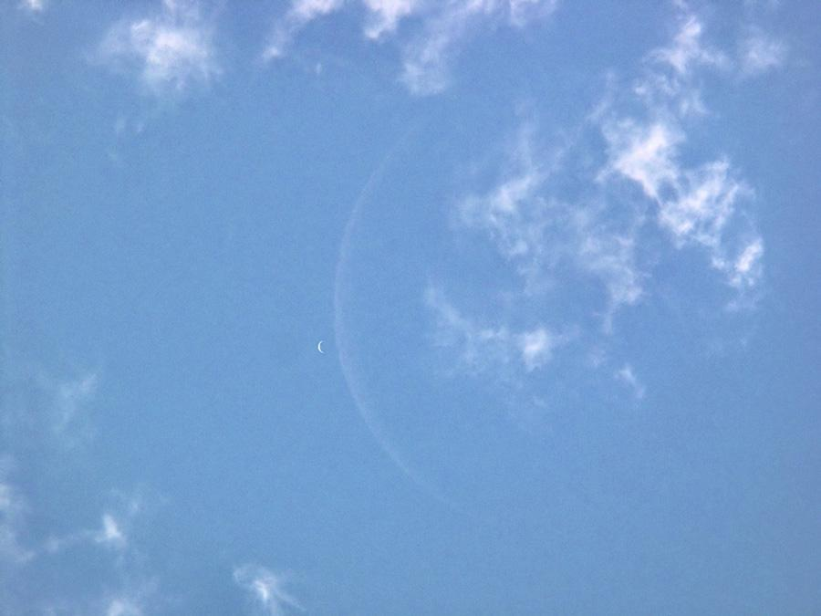 'Crescent Venus and Moon' from APOD (Astronomy picture of the day - May 16th 2010)
