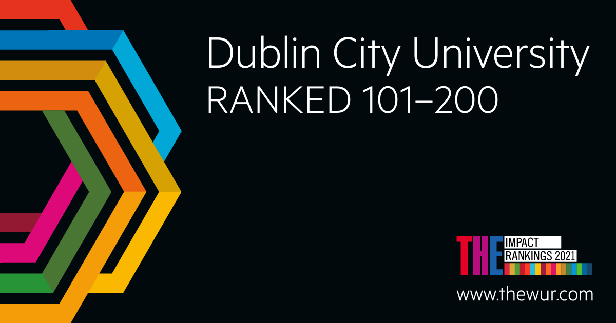 DCU among the world's leading universities for its impact in addressing inequality and reducing poverty