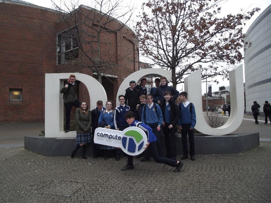 Transition Year Students Get Hi-Tech in DCU
