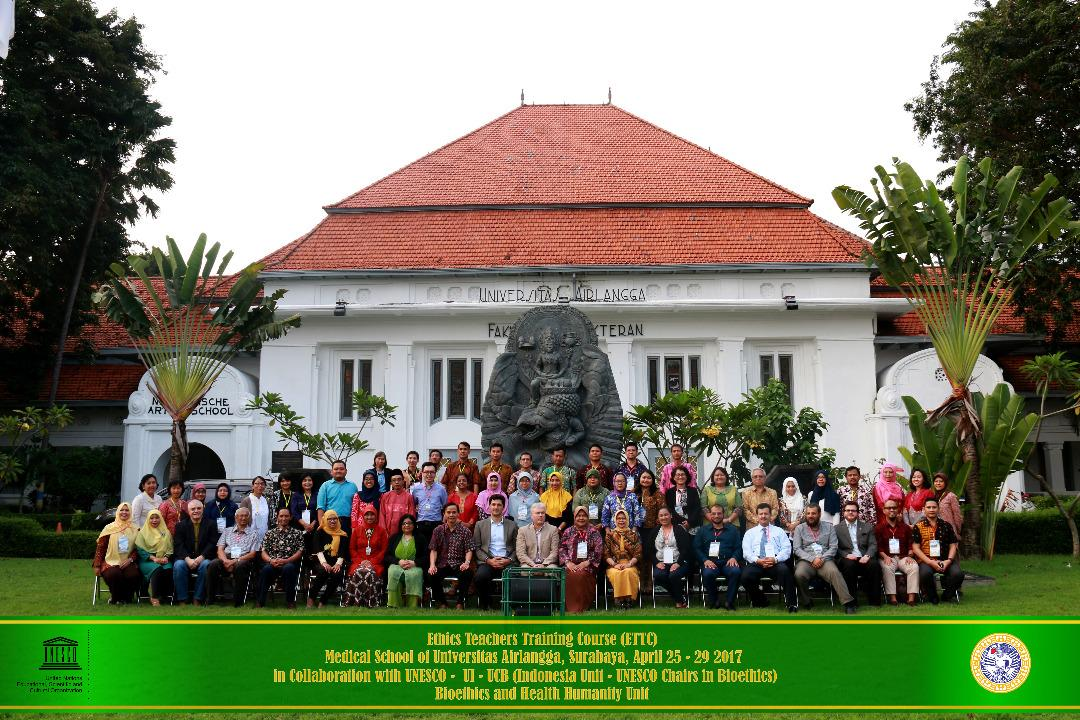 UNESCO Ethics Teachers Training Course, Surabaya 2017