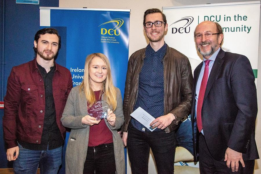 DCU honours outstanding contributions at Engagement awards