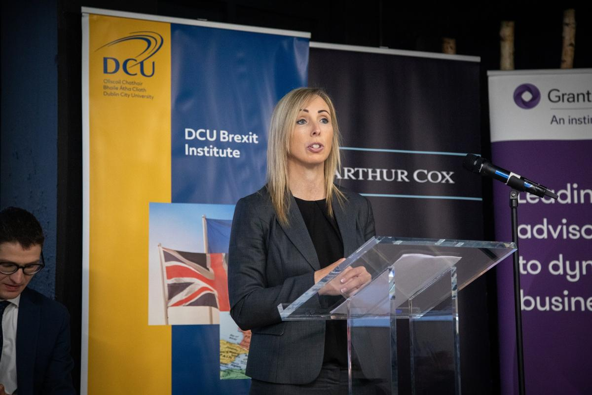 DCU Brexit Institute: DPC Helen Dixon says post Brexit Personal Data issues are 'broad and deep' for Irish business