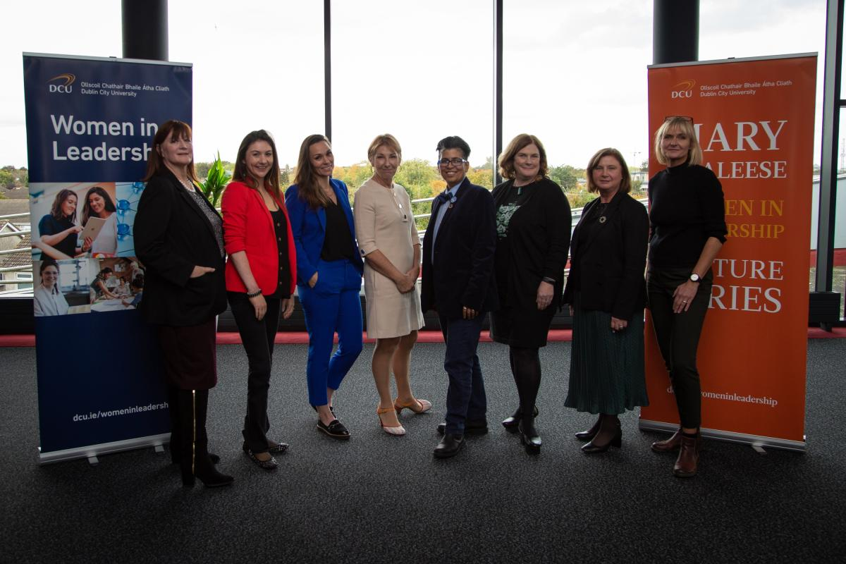 DCU Women In Leadership Event: Leadership is 'loneliness' but 'worth it', says RTE broadcaster Aine Lawlor