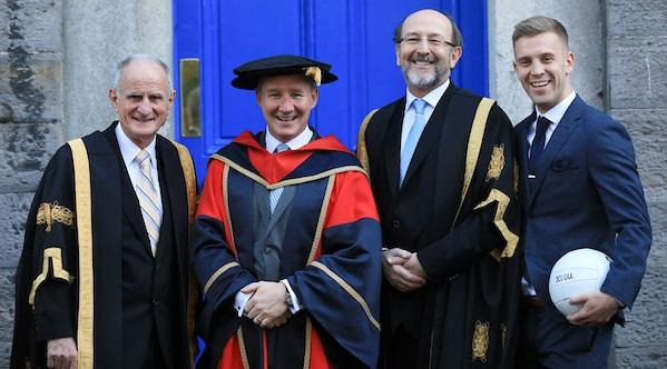 Jim Gavin 'honoured and humbled' after receiving honorary doctorate from Dublin City University