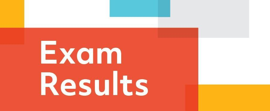 Semester Two Exam Results